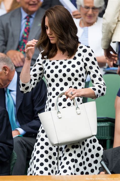 Kate Middleton wearing the Victoria Beckham Quincy bag