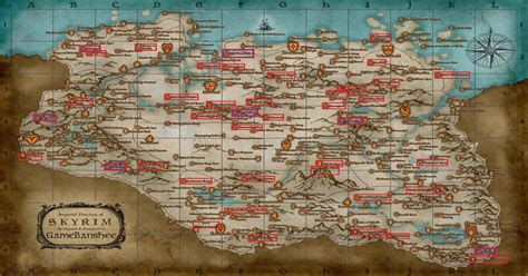 Marked every Dragon Priest and Word Wall location on the