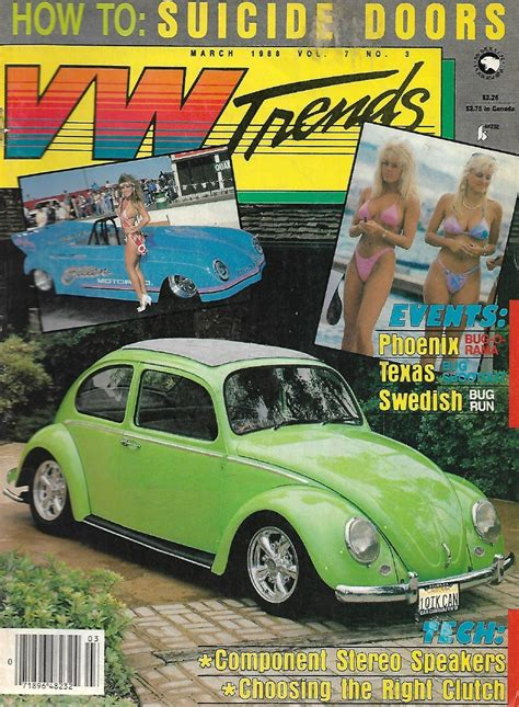 VW TRENDS 1988 MAR - HEAD CC-ing, GETTING THE RIGHT CLUTCH