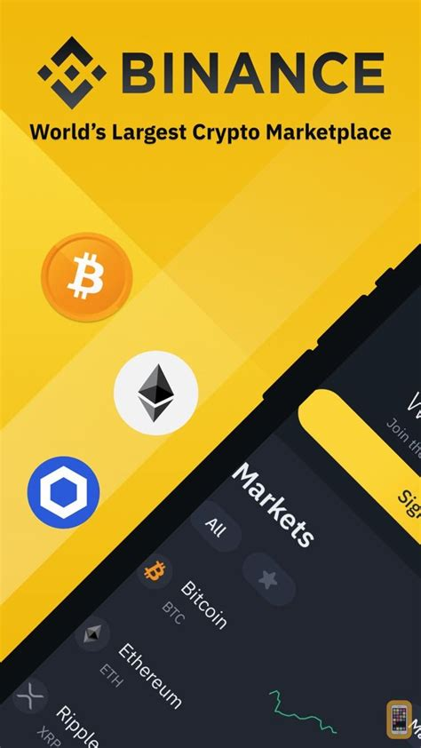Binance: Buy Bitcoin Securely for iPhone - App Info