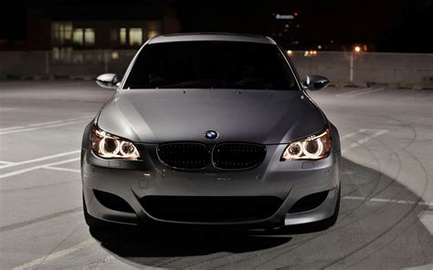 Download wallpapers BMW M5, E60, darkness, 4k, tuning