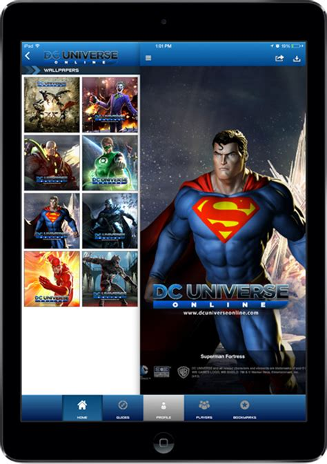 DC Universe Online Mobile App   iPhone, iPad, & Android