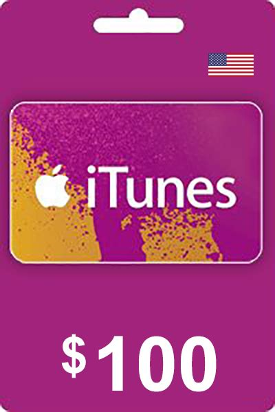 Cheapest iTunes Gift Card 100 USD Codes in USA