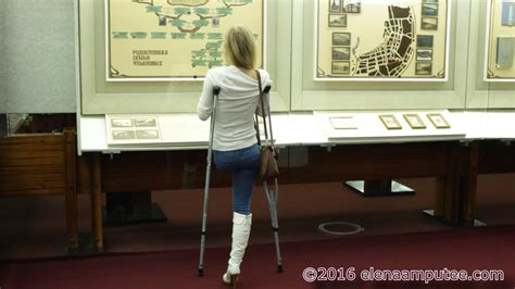 Elena amputee preview Museum - YouTube