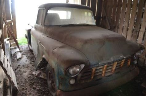 Find used 1956 Chevy 3100 1/2 Ton Pick Up Truck Chevrolet