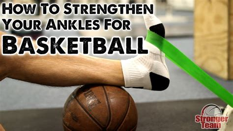 How to Strengthen Your Ankles for Basketball - YouTube