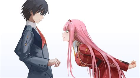 Darling In The FranXX Zero Two Hiro Zero Two Bend And