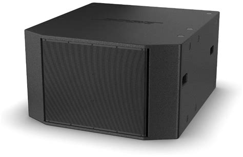 Bose RMS218 RoomMatch Dual-18 Subwoofer, Black | Full