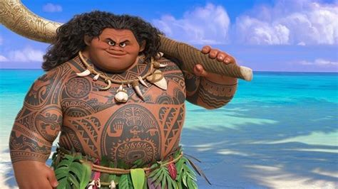 All Of Maui's Tattoos In 'Moana' Show How Culturally