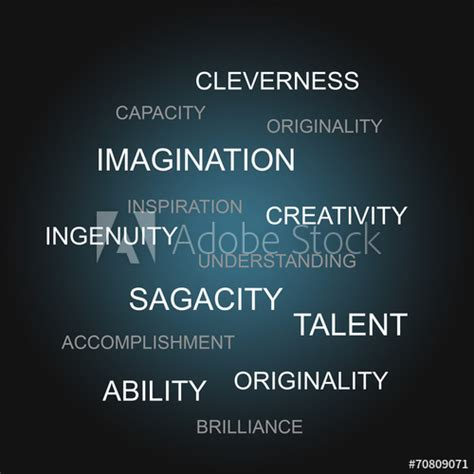 63 Words related to CREATIVITY, CREATIVITY Synonyms