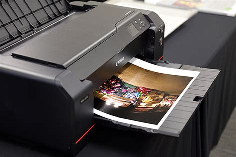 Canon debuts new family of pro printers with new