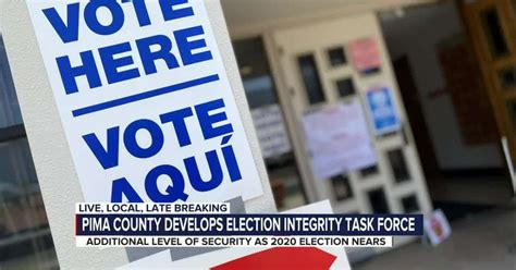 Pima County forms Integrity Task Force ahead of 2020 election