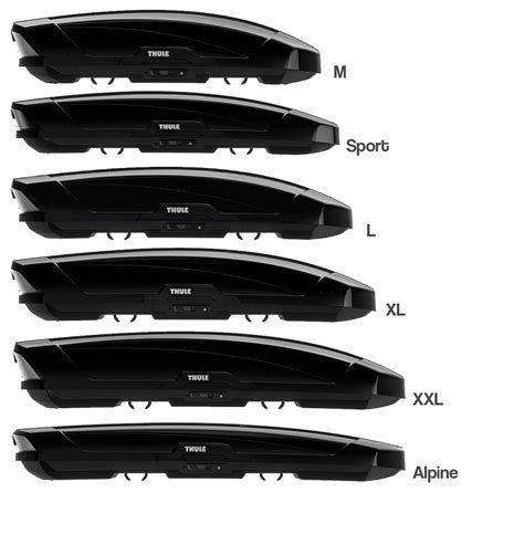 Thule Motion XT Roof Boxes | Roof Boxes