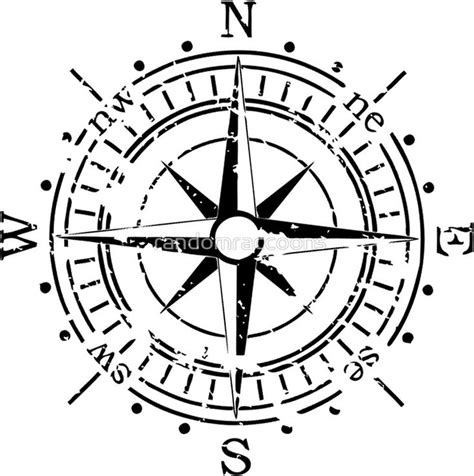 Follow Your Compass | Compass tattoo, Compass drawing