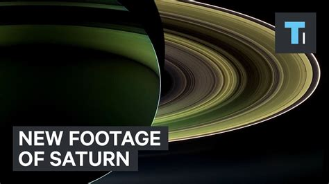 NASA Video Of Saturn With Stunning Real Images From