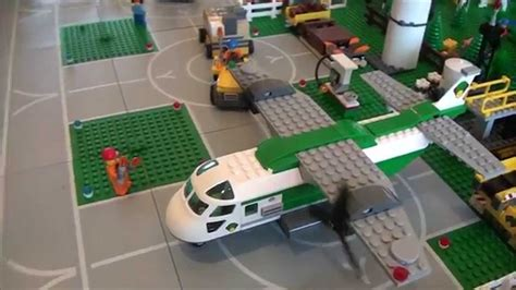 LEGO City 2015 Layout - Airport, Terminal, Ground Vehicles